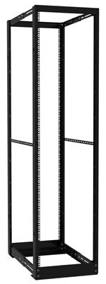 44U Heavy Duty 4-Post Adj Depth 24in-36in Rack