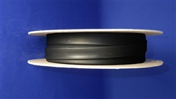 "Heat Shrink tubing roll 1/2"" BLACK 32FT"