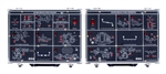 GRF-3300K RF Training Kit Sets, 22 Modules (12 for Receiver and 10 for Transmitter systems)