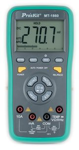 Multimeter, Dual Display with PC Interface