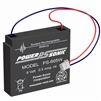 Battery 6 Volt 0.5 AH Terminal WL Rechargeable Sealed Lead Acid