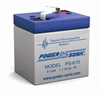 Battery 6 Volt 1 AH Terminal F1 Rechargeable Sealed Lead Acid