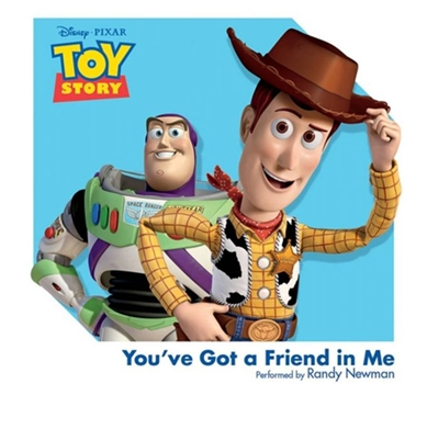 Disney's Toy Story 3 Inch Mini Single - You've Got a Friend in Me (Randy Newman)