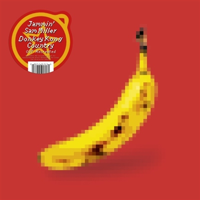 Jammin' Sam Miller - Donkey Kong Country OST Recreated (2xLP) (Banana Yellow colored vinyl) Vinyl LP