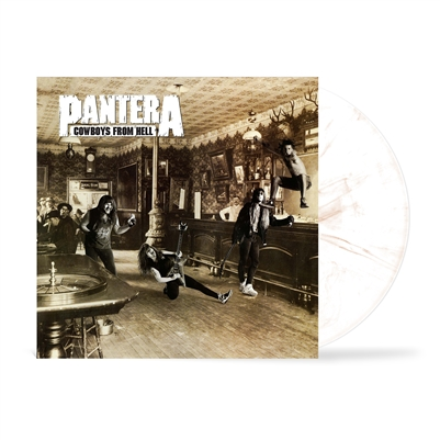 Pantera - Cowboys From Hell (Marbled White & Whiskey Brown Vinyl) - VINYL LP
