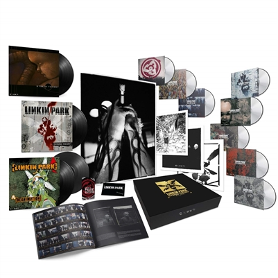 Linkin Park - Hybrid Theory (20th Anniversary Edition) (3LP+5CD+3DVD+Cassette+BOOK) (3 lithos) (poster) (etching) (12 unreleased tracks) - VINYL LP
