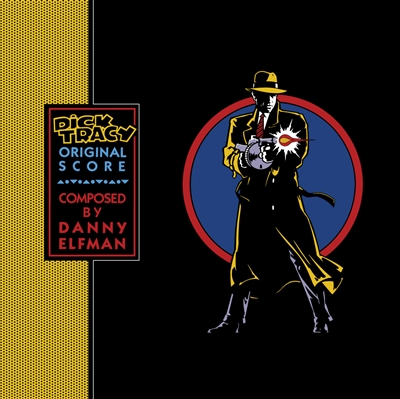 Danny Elfman - Dick Tracy (Original Score) (Transparent Blue colored vinyl; SYEOR Exclusive)  - VINYL LP