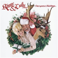 KENNY ROGERS & DOLLY PARTON - ONCE UPON A CHRISTMAS VINYL LP