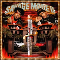 21 Savage & Metro Boomin - Savage Mode II (Red colored Vinyl) - VINYL LP
