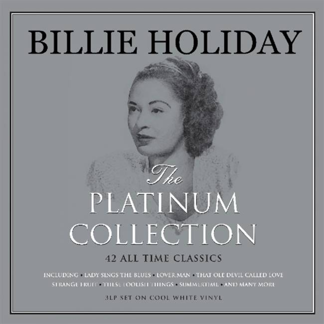 Billie Holiday - Platinum Collection (White Vinyl) (Colored Vinyl) (White Vinyl) - VINYL LP
