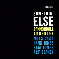 Cannonball Adderley - Somethin' Else VINYL LP