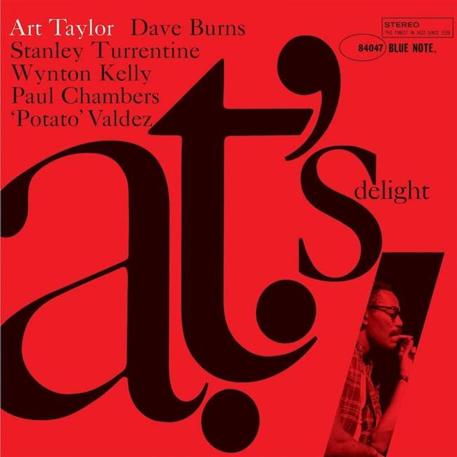 Art Taylor - A.T.'s Delight - VINYL LP