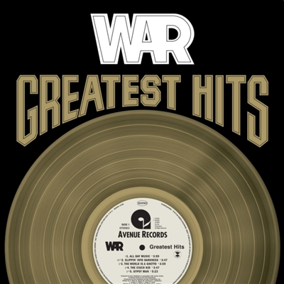 WAR - Greatest Hits (Gold colored Vinyl) - VINYL LP