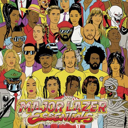 Major Lazer - Essentials (Gatefold LP Jacket) (Post)