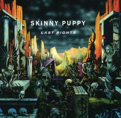 SKINNY PUPPY - LAST RIGHTS VINYL LP
