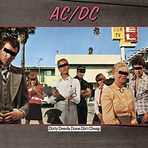 AC/DC - Dirty Deeds Done Dirt Cheap (Remaster) - VINYL LP