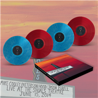 Mike Cooley, Patterson Hood & Jason Isbell - Live At The Shoals Theatre (Box Set) ( Translucent Blue/Red colored Vinyl) - VINYL LP