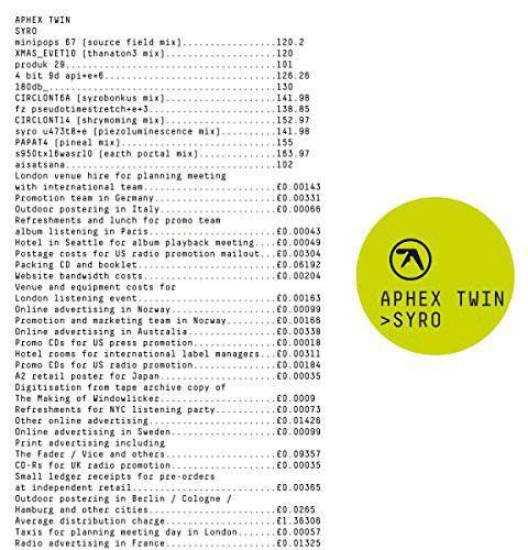 Aphex Twin - Syro (Gatefold LP Jacket)  - VINYL LP