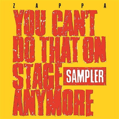 Frank Zappa - You Can't Do That On Stage Anymore (Sampler) (2xLP) (1 Transparent Red + 1 Transparent Yellow) - VINYL LP