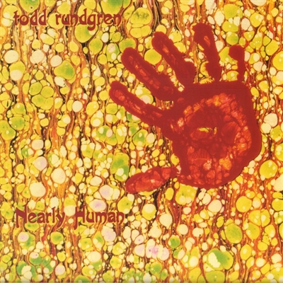 TODD RUNDGREN - NEARLY HUMAN (ORANGE VINYL EDITION) VINYL LP