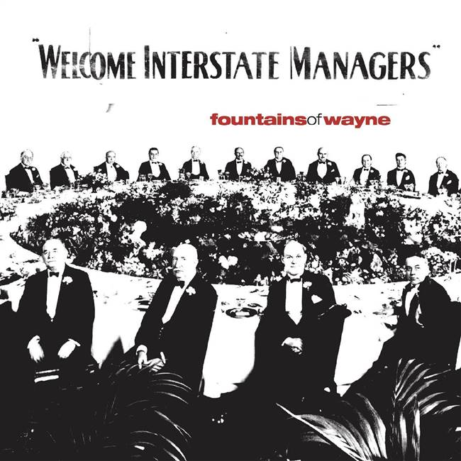 Fountains of Wayne - Welcome Interstate Managers (Limited 2-LP Natural with Black Swirl Vinyl Edition) (2xLP) - VINYL LP