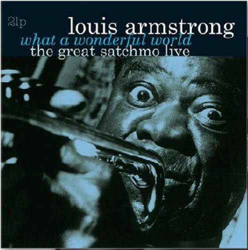 Louis Armstrong - What A Wonderful World-The Great Satchmo Live - VINYL LP
