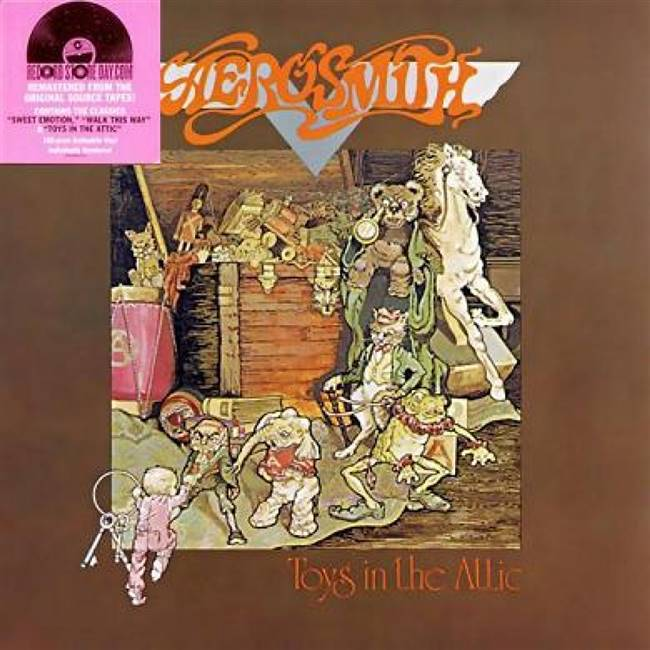 Aerosmith - Toys In The Attic (Limited) (180 Gram Vinyl) (Remaster) - VINYL LP