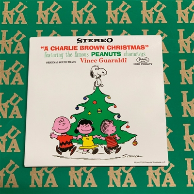 "A Charlie Brown Christmas - 3 Inch Blind Box (contains one of four 3"" records)"