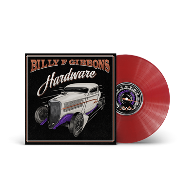 Billy F Gibbons - Hardware (Apple Red LP) - VINYL LP