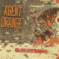 Agent Orange - Bloodstains (Limited) (Orange Vinyl) - VINYL LP