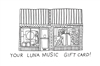 the LUNA music $100 Gift Card