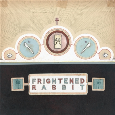 Frightened Rabbit - The Winter of Mixed Drinks (Ice Blue colored Vinyl) - VINYL LP