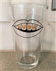 the LUNA music pint glass