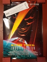 "STAR TREK 1998 INSURRECTION ORIGINAL 27"" X 40"" PROMOTIONAL POSTER"