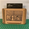 LUNA music Laser-Etched Wood LP Crate
