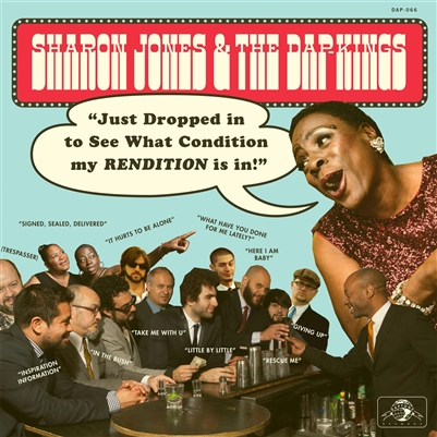 Sharon Jones  & The Dap-Kings - Just Dropped In (To See What Condition My Rendition Was In) - VINYL LP