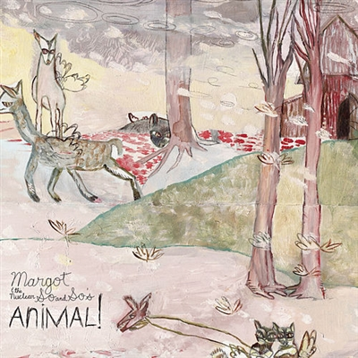 MARGOT & THE NUCLEAR SO AND SO'S-Animal (Blue Vinyl Edition) 2-LP Set