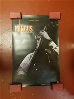 "CHARLES MINGUS 1997 PASSION OF A MAN ORIGINAL 24"" X 36"" PROMOTIONAL POSTER"