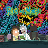 "OST-Rick And Morty (Green + Blue ""Loser"" Edition Vinyl) 2-LP Set"