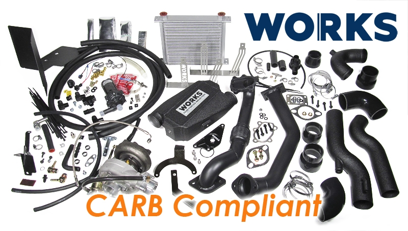 WORKS FR-S/BRZ Stage 2 Turbo Kit - Calibrated Kit/CARB Compliant