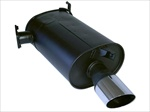 WORKS Exhale Stealth WORKS Performance Muffler - EVO VIII-IX