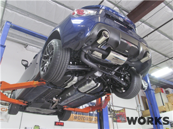 "WORKS Exhale ""Dr. Jekyll (Catback exhaust) Exhaust - BRZ/FR-S BRZ/FRS/86 ""Dr. Jekyll"" Catback Exhaust"