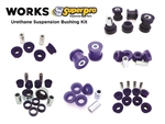 WORKS Urethane Suspension Bushing Kit w/ Front Caster and Rear Camber
