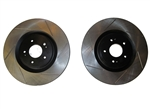 WORKS Slotted Rotors - Front