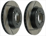 WORKS Slotted Rotors - Rear