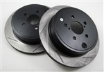 WORKS Slotted Rotors (Rear) - BRZ/FR-S