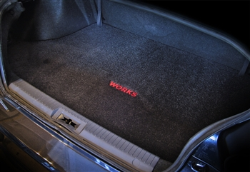 WORKS Embroidered Trunk Mat - FR-S
