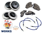 WORKS BP-1 Brake Package - BRZ FR-S 86