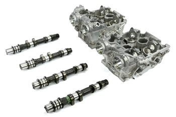 Cosworth CNC Ported Cylinder Head Set w/ KK3766 Cams