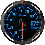 Defi Blue Red White Racer Gauge - Exhaust Gas Temp.